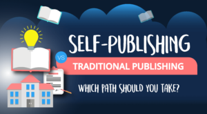 Self-Publishing vs Traditional Publishing – Which Path Should You Take? (Infographic)
